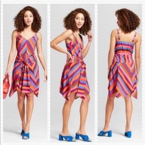 Multi Colored Striped Sundress A NEW DAY